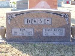 Bonnie <i>Dickson</i> Deviney