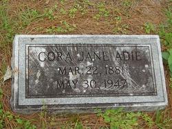 Cora Jane <i>Greene</i> Adie
