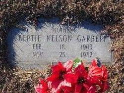 Bertie <i>Nelson</i> Garrett
