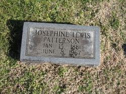 Josephine Margaret <i>Lewis</i> Patterson