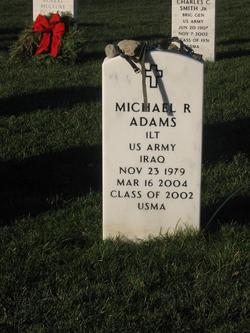Lieut Michael Robert Adams