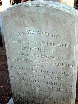 Annie Lyman Roelker