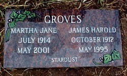 James Harold Jim or Son Groves