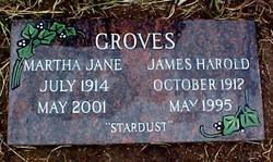 Martha Jane Susie or Suzie <i>Dawson</i> Groves
