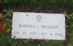 Barbara L <i>O'Kane</i> Milligan