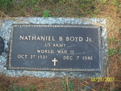 Nathaniel Boyden Boyd, Jr