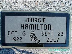 Margie <i>Dixon</i> Hamilton