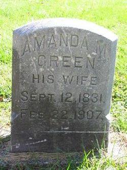 Amanda M <i>Green</i> Crofoot
