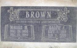 Mattie M. <i>Gray</i> Brown