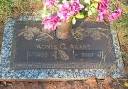 Agnes G. Arant