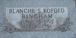 Blanche S. <i>Kofoed</i> Bingham
