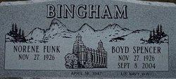 Boyd Spencer Bingham