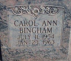 Carol Ann Bingham