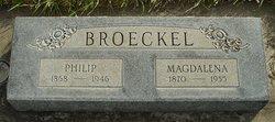 Magdalena <i>Uhl</i> Broeckel