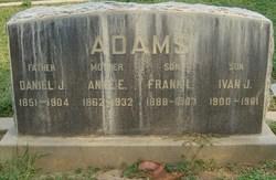 Anne E <i>McLean</i> Adams