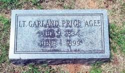 Lieut Garland Price Agee