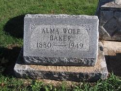 Alma Wolf Baker