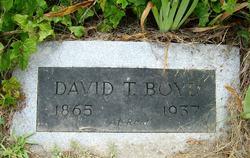 David T Boyd
