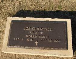 Joe Q Raynes