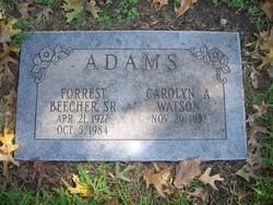 Forrest Beecher Adams, Sr