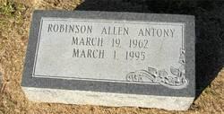 Robinson Allen Antony