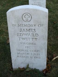 PFC James Edward Twitty