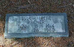 Sylvia Irene Archer