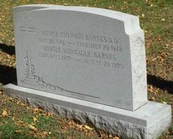 Myrtle <i>Montague</i> Barnes