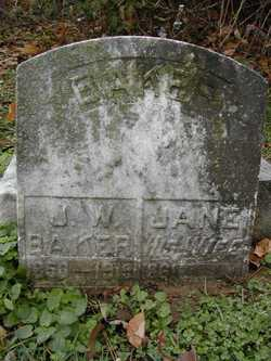 Jane <i>Lockhart</i> Baker