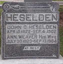 Sara Ann <i>Weaver</i> Heselden