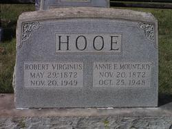 Annie E <i>Mountjoy</i> Hooe