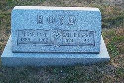 Sallie Garnet <i>Eakins</i> Boyd