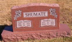 Alice Thelma <i>Hinson</i> Shumate
