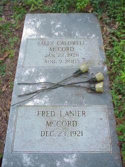 Sally <i>Caldwell</i> McCord