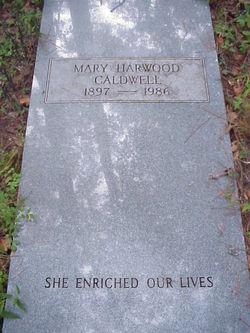 Mary <i>Harwood</i> Caldwell