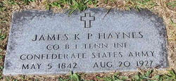 James K P Haynes