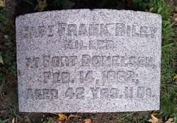 Capt Francis A. Riley