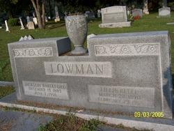 Lillie Belle <i>Mott</i> Lowman
