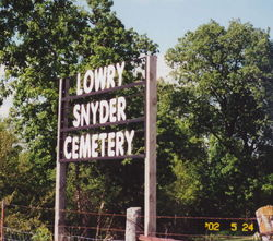 Lowry Snyder Cemetery