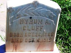 Hyrum Albert Cluff