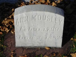 Ann <i>McMenemy</i> Mousley