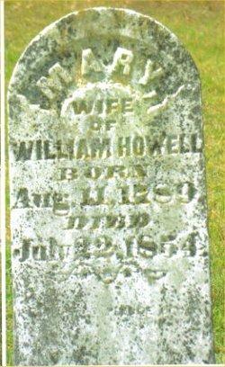 Mary 'Polly' <i>Holbrook</i> Howell