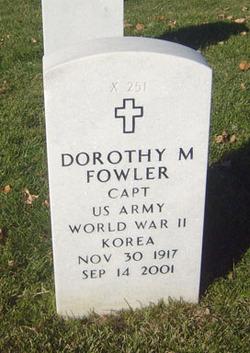 Dorothy M. Fowler