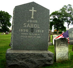 Pvt John Sabol
