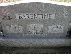 Mildred Orene <i>McGuire</i> Barentine