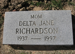 Delta Jane Janie <i>White</i> Richardson