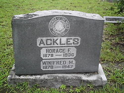 Horace F Ackles