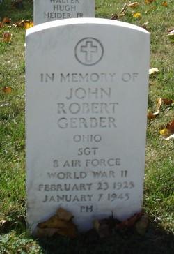 Sgt John Robert Gerber