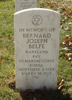 Pvt Bernard Joseph Belfe