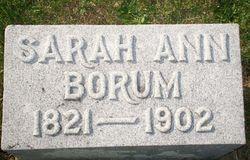 Sarah Ann <i>Milner</i> Borum